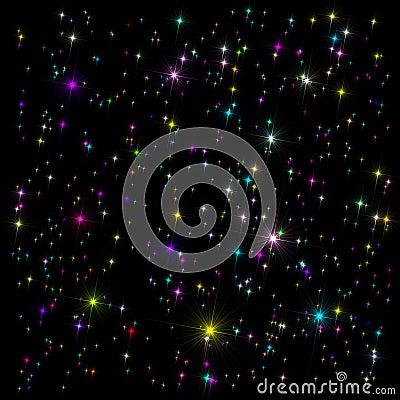 Astronautyczny dekoracyjny tło