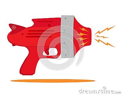 Astronautyczny pistolet