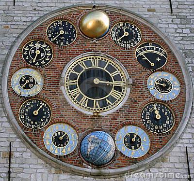 Free Astronomic Clockworcks Stock Photography - 10764822