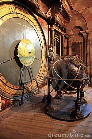 Astronomical clock - Notre Dame in Strasbourg
