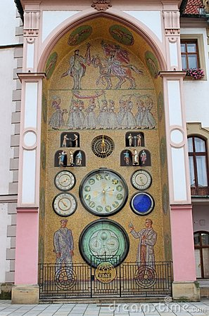 Astronomical clock of Olomouc