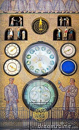 Free Astronomical Clock ( Orloj ), Olomouc Stock Photography - 76578452