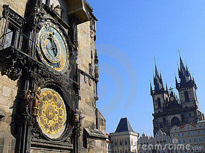 Astronomical clock in Prague (UNESCO)