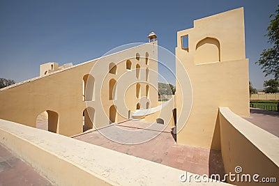 Astronomical observatory Jantar Mantar - Jaipur