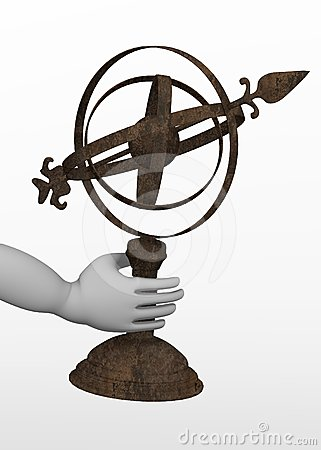 Astronomical tool - in hand