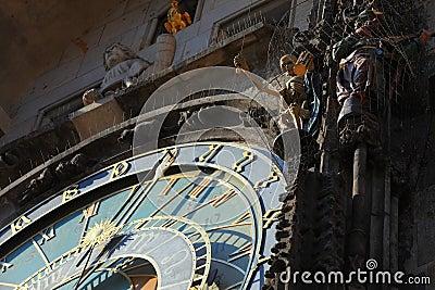 Astronomische Borduhr Prag