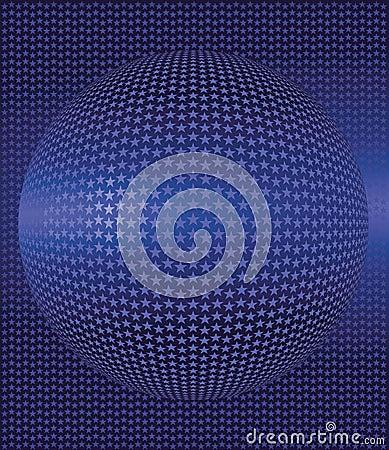 Astronomy stars ball