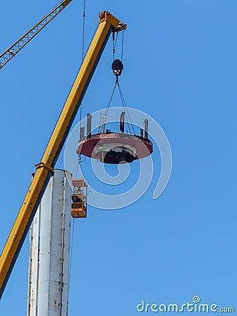 Astrotower Εκδοτική Στοκ Εικόνα