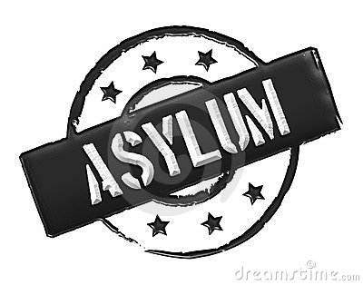 Asylum - Black Royalty Free Stock Images - Image: 23875599