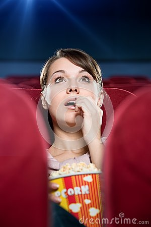 Free At The Cinema Stock Image - 24812971