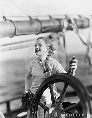 Free AT THE HELM Stock Photos - 51997333