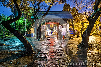 Atago Shrine Editorial Stock Image
