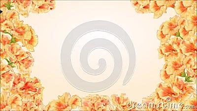 Atalanta sem emenda video de Vanessa da borboleta do laço e hibiscus amarelo filme