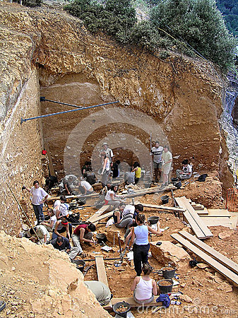 Free Atapuerca Fossil Site Royalty Free Stock Photography - 30973017