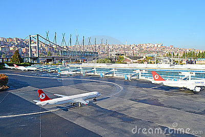 Ataturk International Airport Editorial Image