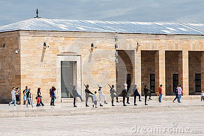 Ataturk Mausoleum Ankara Editorial Stock Photo