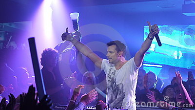 ATB Concert in Los Angeles Editorial Stock Photo