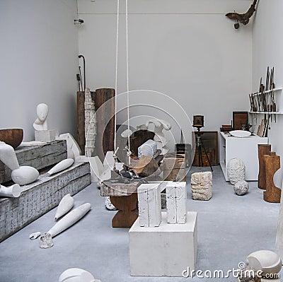 Atelier Brancusi Editorial Photography