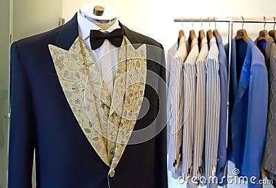Atelier of man dress