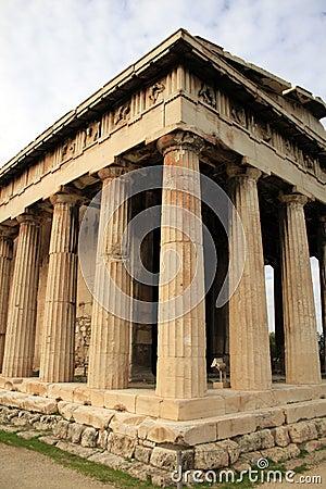 Atenas, Greece - templo de Hephaestos