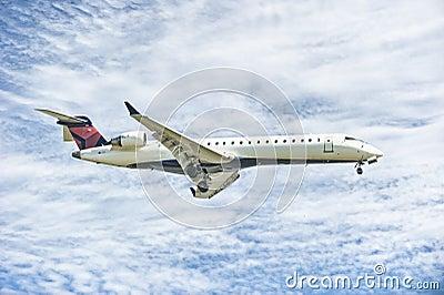 Aterragem de avião