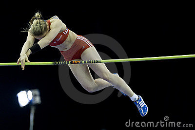 ATH: Aviva Indoor Athletics Editorial Stock Photo