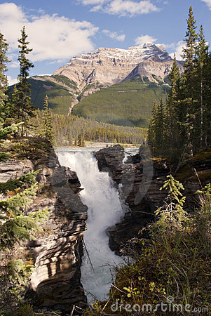 Athabasca waterfalls