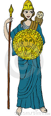 Athena Royalty Free Stock Photography - Image: 23439977