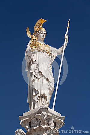 Athena, goddess of greek mythology