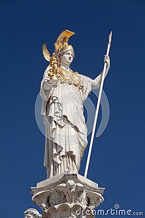 Free Athena, Goddess Of Greek Mythology Stock Photos - 26085453