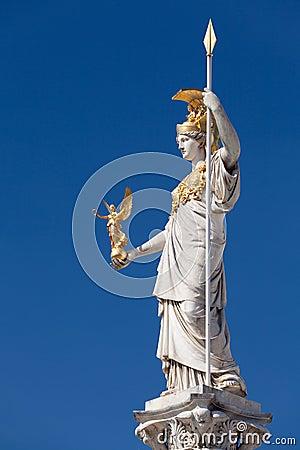 Free Athena, Goddess Of Greek Mythology Royalty Free Stock Photography - 26085457