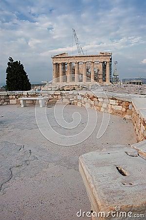Athena Parthenon temple