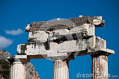 Athena Sanctuary detail