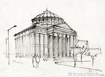 Athenaeum Sketch