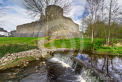 Athenry Castle in Co. Galway