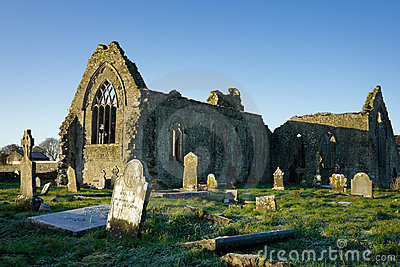 Athenry Dominican Friary with cemetery