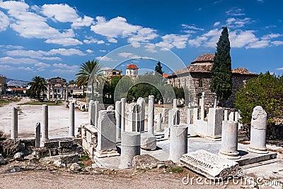 Athens, Ancient Roman Agora