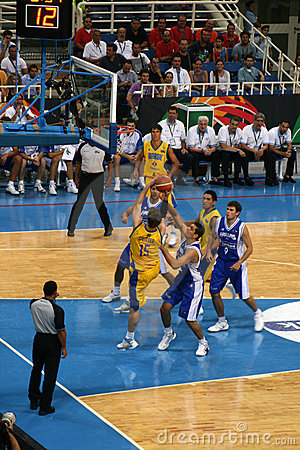 Athens - FIBA 2008 Basketball Editorial Photo