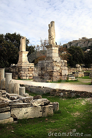 Athens, Greece - The Agora and Acropolis