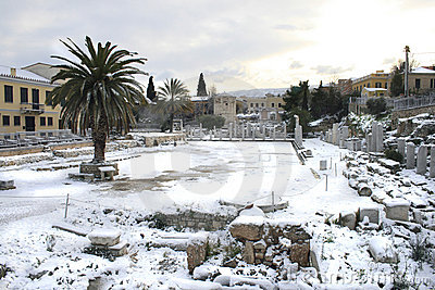 Athens, Greece - The Agora and Acropolis