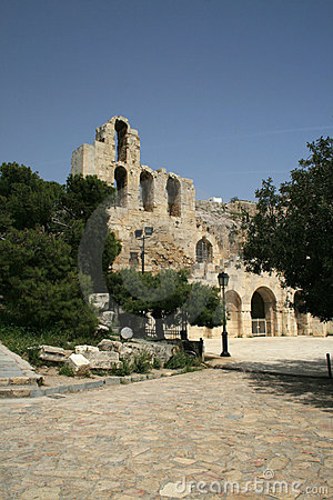 Athens, Greece - Herodus Atticus Theatre