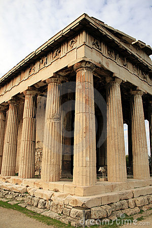 Athens, Greece - Temple of Hephaestos