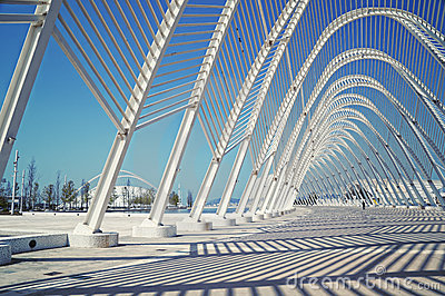 Athens Olympic Stadium Editorial Stock Image