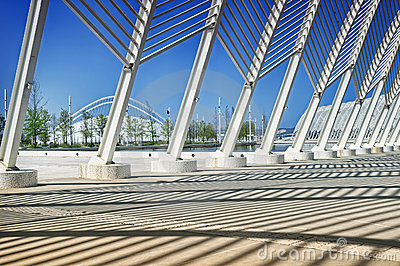 Athens Olympic Stadium Editorial Photography