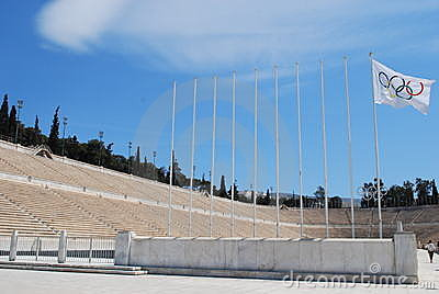 Athens Olympic Stadium Editorial Image