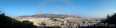 Athens panorama Stock Photo