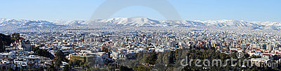 Athens Winter Panoramic