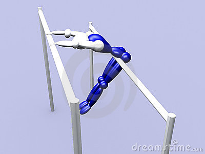 Athlet on Parallel Bars vol 3