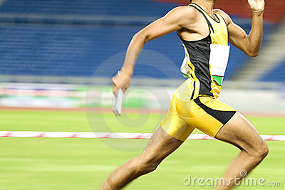 Athlete in Action