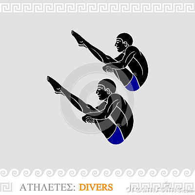 Athlete divers